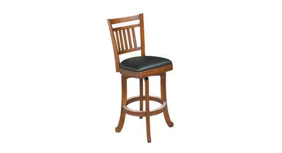 Heritage Slat Back Bar Stool