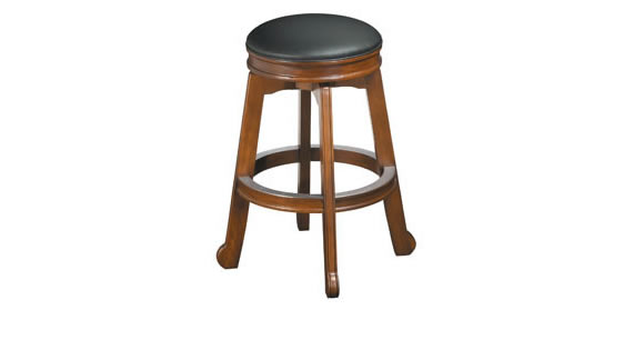 Colonial Backless Barstool