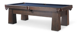 Carnegie Pool Table w/ drawer