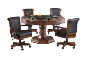 Brunswick Centennial Games Table w/4 chairs