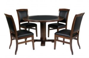 "Legacy 48"" Heritage 2-in-1 Games Table Set c/w 4 Heritage Chairs"