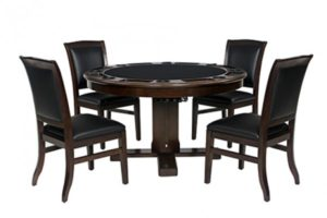 "Legacy 54"" Heritage 3-in-1 Game Table Set c/w 4 Chairs"