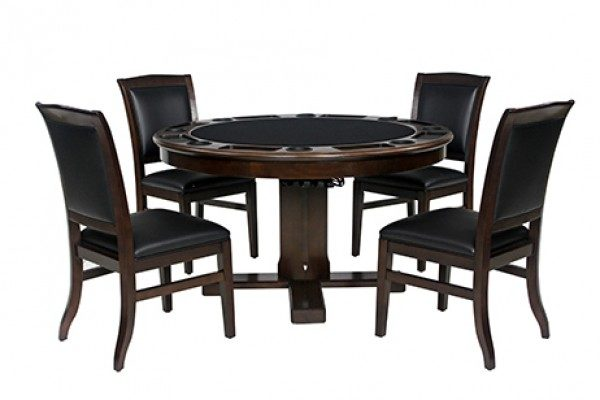 """Legacy 54"""" Heritage 3-in-1 Game Table Set c/w 4 Chairs"""