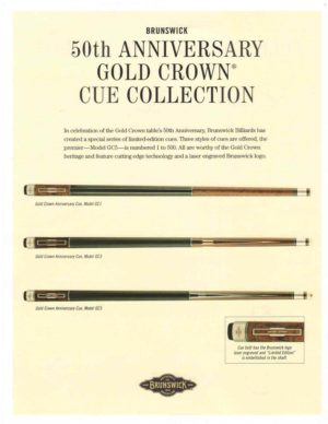 The 50th Anniversary Gold Crown Collection