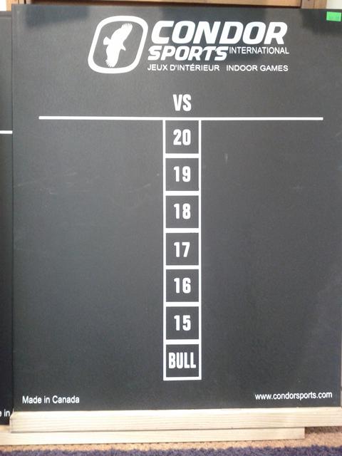 Condor Black Scoreboard Chalk - Large