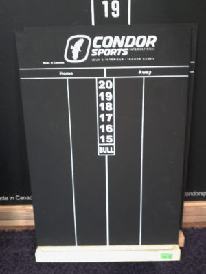 Condor Black Scoreboard Chalk - Small