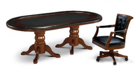 Legacy Hold Em Table with Signature Chairs