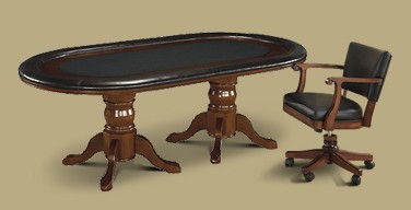 Legacy Hold Em Table with Classic Chair