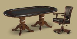 Legacy Hold Em Table with Elite Chairs