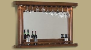 "Back Bar Mirror 55"" Sterling"