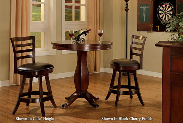 "Legacy Sterling Pub 36"" Round Table"