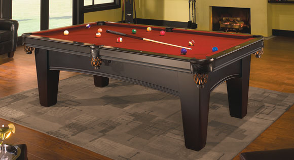 Bayfield Contender - New brunswick pool table