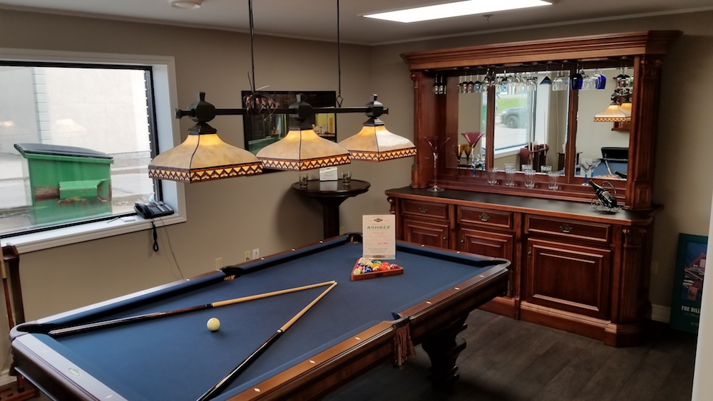 Pool Tables, Bar Stools And Much More! Hallmark Billiards Is Canadau0027s  Largest Authorized Dealer For Brunswick Billiards And Olhausen Billiards  Pool Tables.